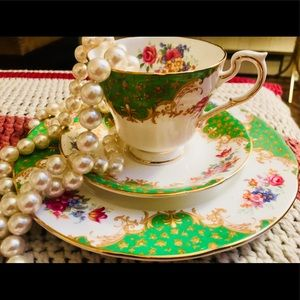 Accessories - Vintage Paragon Bone China Teacup & Saucers